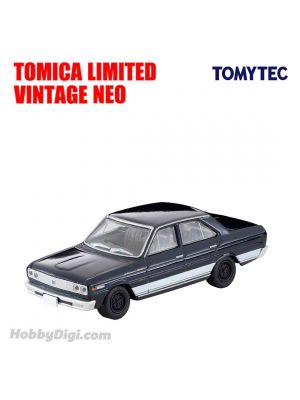 TOMYTEC Tomica Limited Vintage NEO Diecast Model Car - LV-37c CEDRIC Personal 6 Dark Blue
