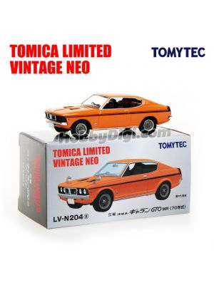 TOMYTEC Tomica Limited Vintage NEO 合金車 - LV-N204a Mitsubishi Colt Galant GTO MR 70 years (Orange)