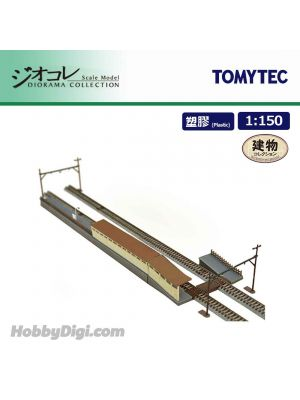 TOMYTEC Diorama Collection 1:150 Scenery Collection - Platform Expansion For Double Track Set