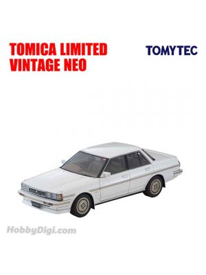 Ignition Model x TOMYTEC Tomica Limited Vintage NEO 合金車 - T-IG1809 Toyota Cresta Super Lucent Twincam 24 Exceed (Pearl White)