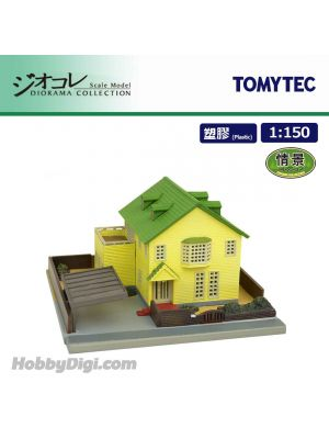 TOMYTEC Diorama Collection 1:150 Scenery Collection - Forest Avenue House