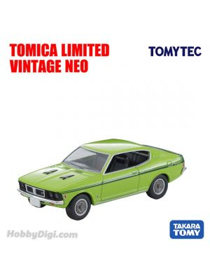 TOMYTEC Tomica Limited Vintage NEO Diecast Model Car - LV-N204d Colt Galant GTO MR (Yellow Green)