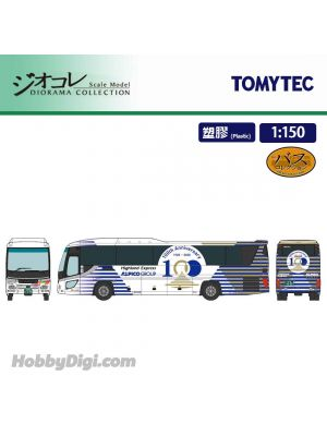 TOMYTEC Diorama Collection 1:150 Model Car - ALPICO kotsu 100th Anniversary Wrapping Bus