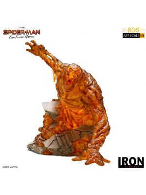 Iron Studios BDS Art Scale 1/10 Polystone Statue - Spider- Man: Far From Home Molten-Man