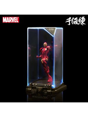 Sentinel PVC Statue - Marvel Super Hero Illuminated Gallery Collection 1: Iron Man (Re-release)