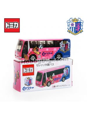Tomica Japan Limited Edition Diecast Model Car - Cerezo Osaka × Tomica Player Bus