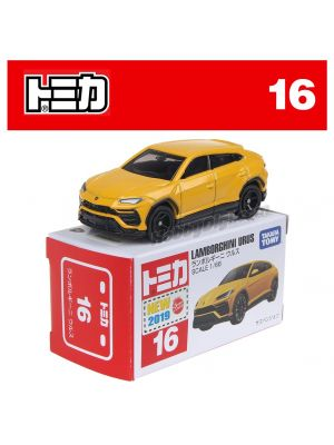 [2019 Sticker] Tomica Diecast Model Car No16 - Lamborghini Urus