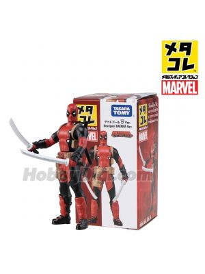 Metacolle Metal Figure - Deadpool Katana