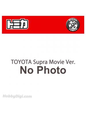 Dream Tomica Diecast Model Car - TOYOTA Supra Movie Ver.