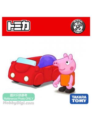 Dream Tomica Diecast Model Car - Ride On Peppa Pig
