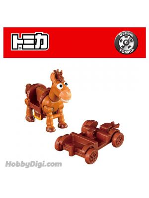 Dream Tomica Diecast Model Car TS-06 - Toy Story 4 Bullseye & Cart