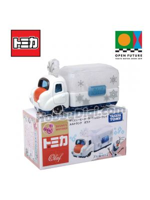 Tomica Disney Motors X Open Future Tokyo Motor Show 2019 Limited Diecast Model Car - Jewelry Weil Trunk Olaf