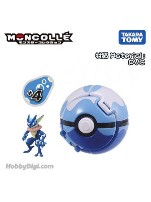 Takara Tomy Pokemon Moncolle - Pokedel Z Dive Ball潛水球 - 忍者蛙