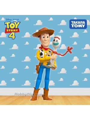 Takara Tomy Disney Toy Story 4 Figure- My First Friends + Woody & Forky