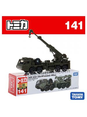[2020 Sticker] Tomica Diecast Model Car No141 - SDF Heavy Wheeled Recovery Vehicle