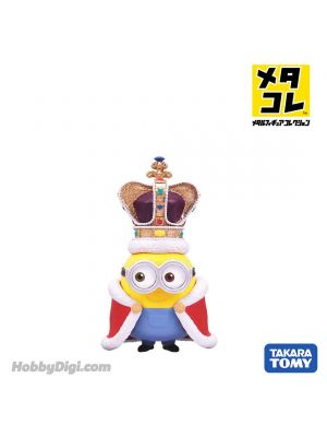 Metacolle Metal Figure - Minions King Bob (New PKG)