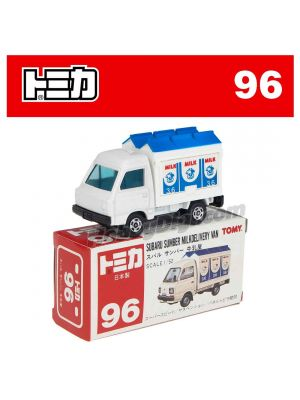 [Made in Japan] Tomica Diecast Model Car No96 - Subaru Sumber Milkdelivery Van