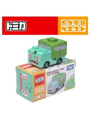 Tomica Pokemon Quset Diecast Model Car - P-02 Bulbasaur