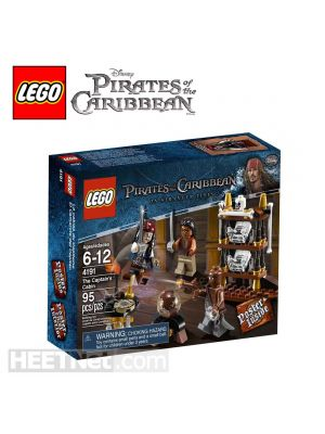LEGO Pirates of the Caribbean 4191: Captain s Cabin