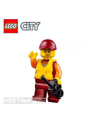 LEGO Loose Minifigure City: ATV Driver