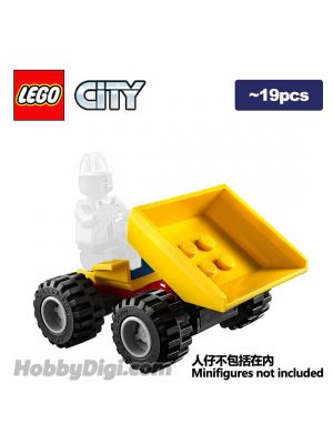 LEGO Loose Machine City: Dumper with Tipping Bed