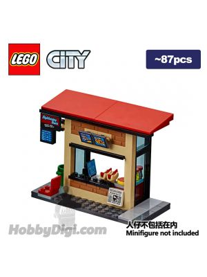 LEGO Loose Decoration City: Fast-food Kiosk
