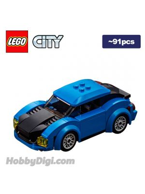 LEGO Loose Machine City: Blue Sports Car