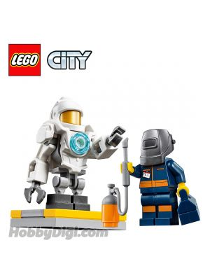 LEGO Loose Machine and Minifigure City: Robot and Mechanical Engineer