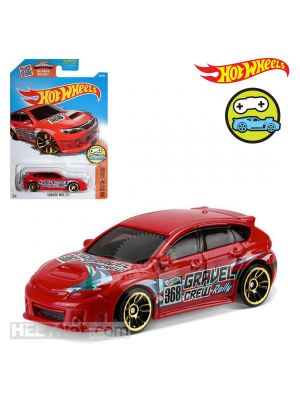 Hot Wheels HW Digital Circuit 30/250 合金車 - Subaru WRX STI Red