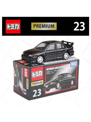 Tomica Premium Diecast Model Car No23 - Mitsubishi Lancer Evolution III GSR