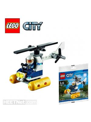 LEGO City Polybag 30311: Swamp Police Helicopter