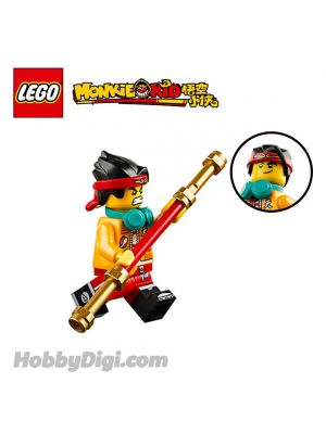 LEGO Loose Minifigure Monkie Kid : 十分生氣的悟空小俠