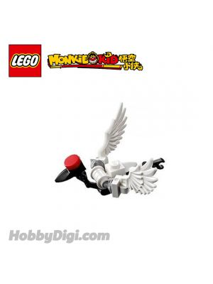 LEGO Loose Decoration Monkie Kid : Red-crowned Crane