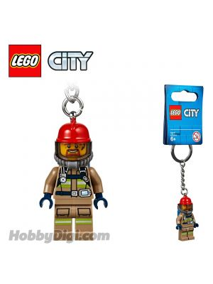 LEGO Key chain 853918 City: City Firefighter