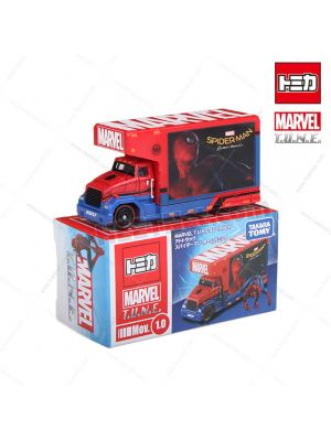 Tomica Marvel T.U.N.E. Diecast Mov 1.0 - Spider-Man Home Coming Ad Truck