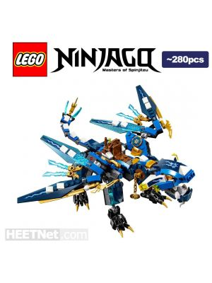 LEGO Loose Machine Ninjago: Jay s Elemental Dragon