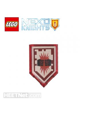 LEGO Loose Accessories Nexo Knights: Macy Scannable Shield 207 Powers of Charging Attack