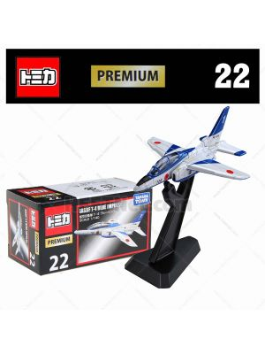 Tomica Premium Diecast Model Car No22 - Air Self-Defense Force T-4 Blue Impulse