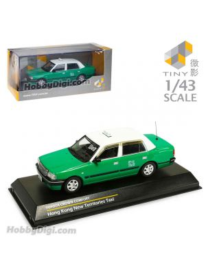 Tiny Hobby 1:43 Diecast Model Car - Toyota Crown Comfort NT Taxi 4-seat