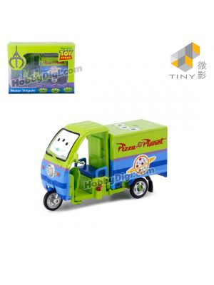Tiny Hobby 1:43 Diecast Model Car - Electric Tricycle
