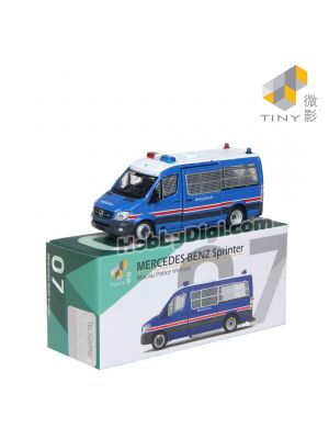 Tiny 微影 City 合金車 MC7 - Mercedes-Benz Sprinter (Facelift) 澳門治安警察