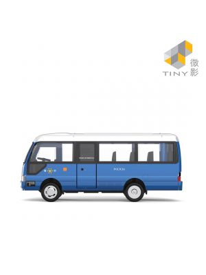 Tiny City Diecast Model Car MC10 - Toyota Coaster Macau Policia de Seguranca Publica
