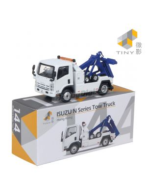 Tiny City Diecast Model Car 144 - Isuzu N Series Tow Truck