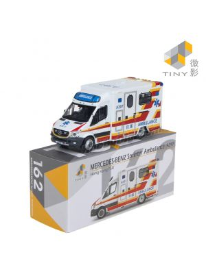 Tiny City Diecast Model Car 162 - Mercedes-Benz Sprinter Facelift HKFSD Ambulance (A397)