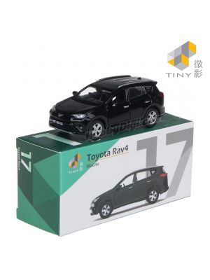 Tiny City Diecast Model Car MC17 - Macau Toyota Rav4 Black