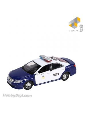 Tiny City 1:64 Diecast Model Car TW7 - Toyota Camry 2011 Police Department