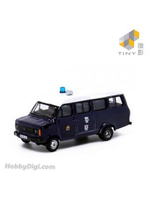 Tiny City 1:76 Diecast Model Car 15 - Ford 1980's Police with Single Speaker (AM 8145)