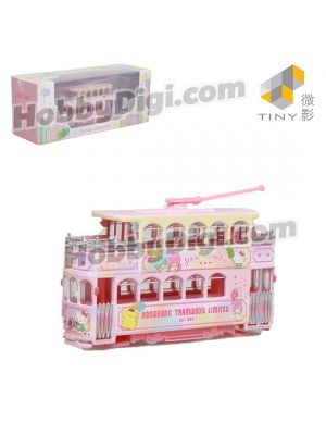 TINY X SANRIO CHARACTERS 1:120 Die-cast Model - Antique Tram (28)