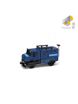Tiny City 1:72 Diecast Model Car - Hong Kong Police Armored Vehicle (AM7886)