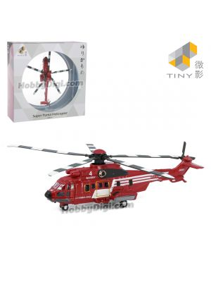 Tiny City 1:144 Diecast Model Car JP4 - Tokyo Fire Department Helicopter